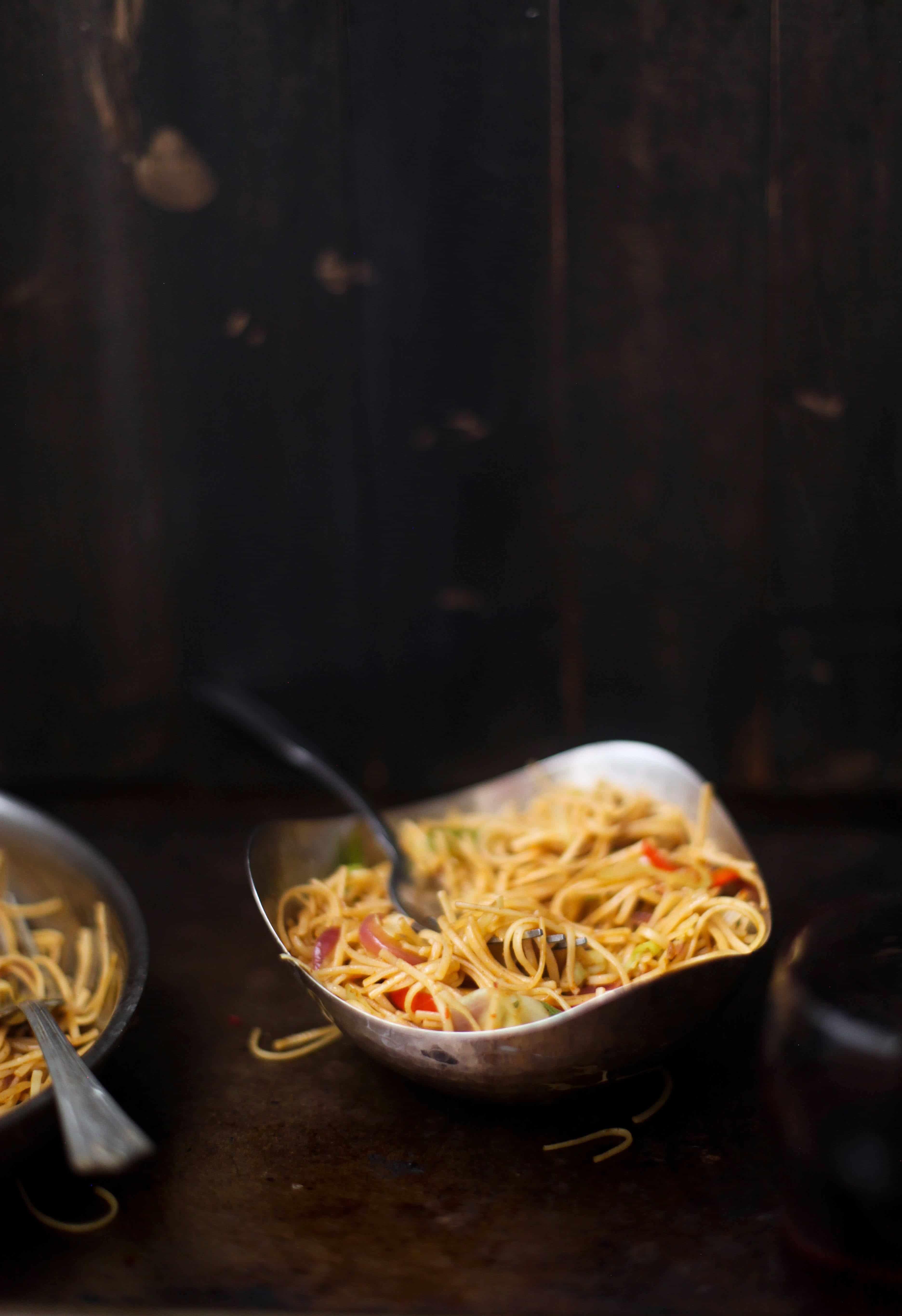 Vegetable Hakka Noodles02, SInfullySpicy